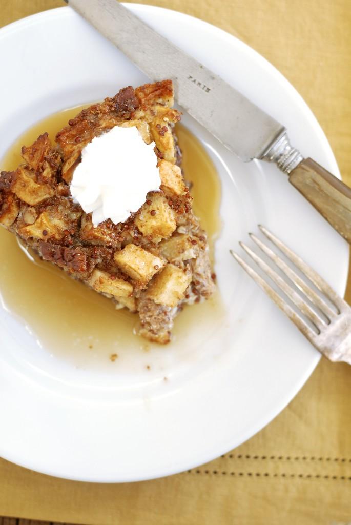 Apple Pie Quinoa Bake {gluten-free} | kumquat
